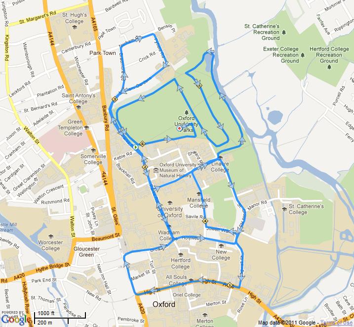 Martin\'s Marathon